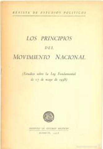 Ley Principios del Movimiento Nacional