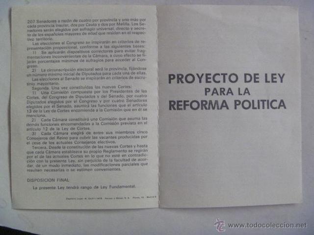 Proyecto Ley Reforma Política