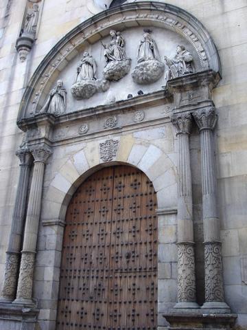 Traslado de los huesos de Fray Cristobal de Torres a la capilla de la Bordadita