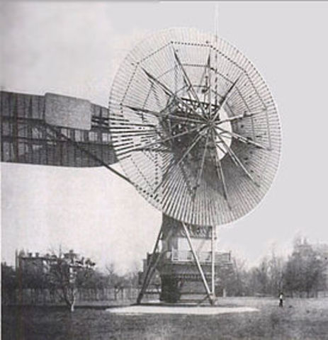 the first windmill for electricity  production