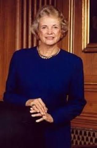 Sandra Day O' Connor