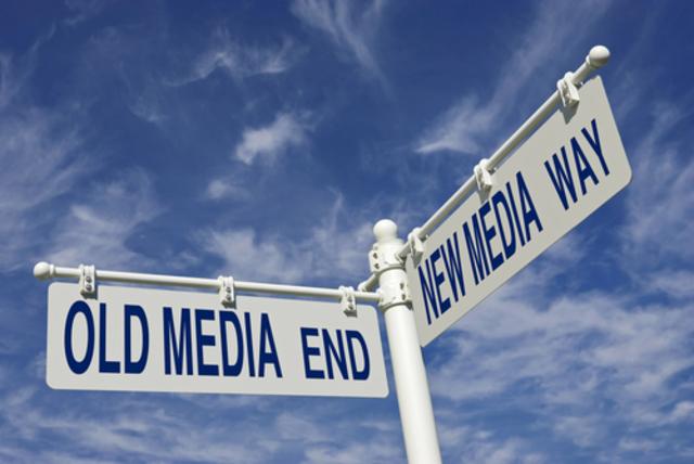 Old new media.