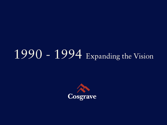 1990 - 1994 Expanding the Vision