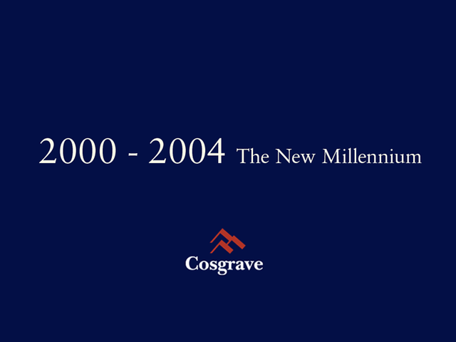 2000 - 2004 The New Millennium