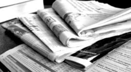El periódico a través del tiempo. timeline