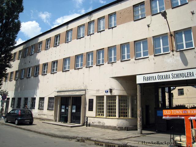 Schindler hiding Jews in his factory