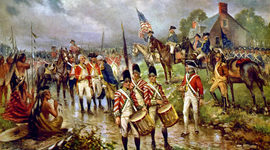 The American Revolution was heavily influenced by Enlightenment ideas expressed by Voltaire, Rousseau, Wollstonecraft, Locke, and Beccaria, which resulted in a newly reformed government and independence from Britain to become an equal, independent... timeline