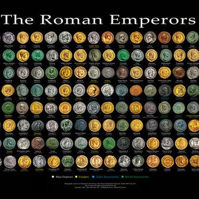 roman emperors timeline