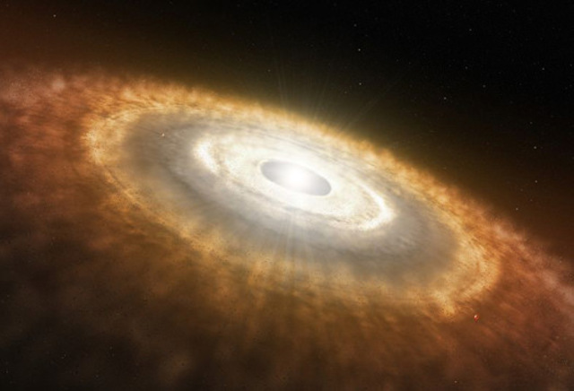 Flattening of Protoplanetary Disk