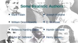 American Literature: Realism timeline