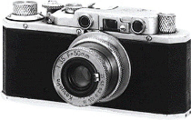 The first canon camera