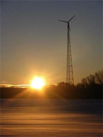 The fourt wind turbine