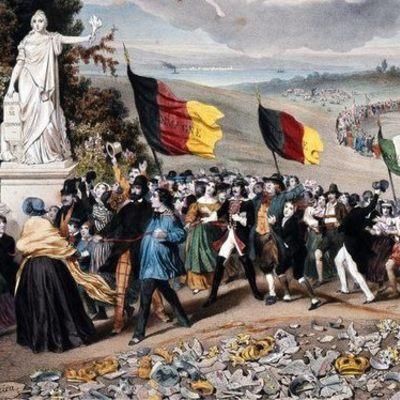 Du printemps des peuples à la Première Guerre mondiale timeline