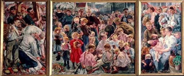 Léon Frédéric, Les âges de l'ouvrier, 1895-1897