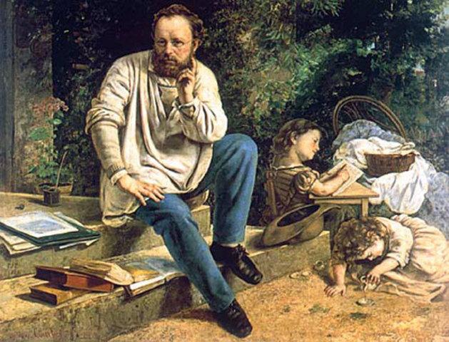 """Proudhon """"La propriété c'est le vol"""" """"Nous sommes riches dans les sociétés civilisées. Pourquoi donc autour de nous cette misère ? Pourquoi ce travail abrutissant, pénible des masses ?"""""""