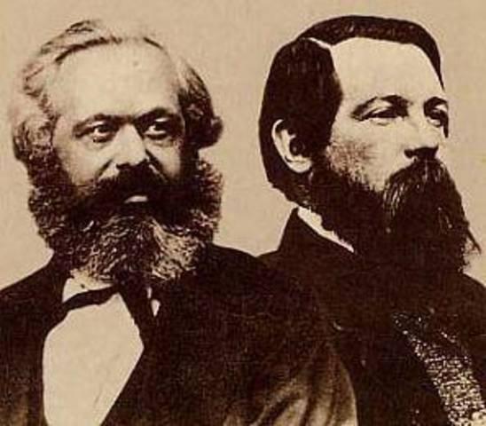 Marx et Engels, Le Manifeste du Parti communiste