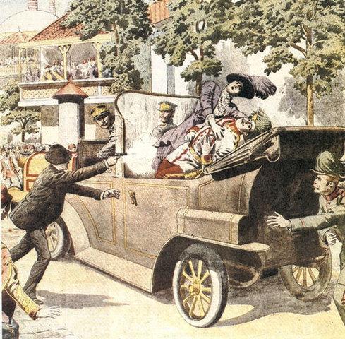 La Première Guerre mondiale a-t-elle vraiment été « provoquée » par l'attentat de Sarajevo qui coûta la vie à l'archiduc héritier, François-Ferdinand d'Autriche-Hongrie, et à son épouse ?