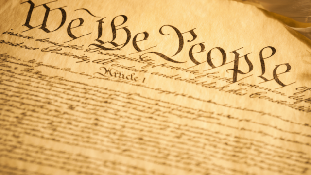 Ratifying the United States' Constitution