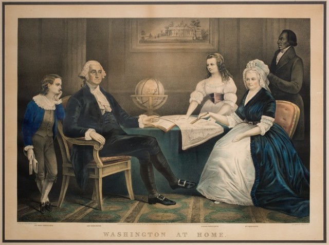 George Washington gets Married