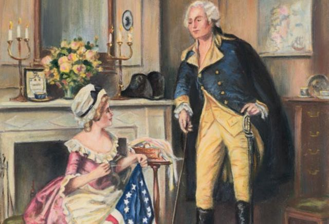 Betsy meets with George Washington