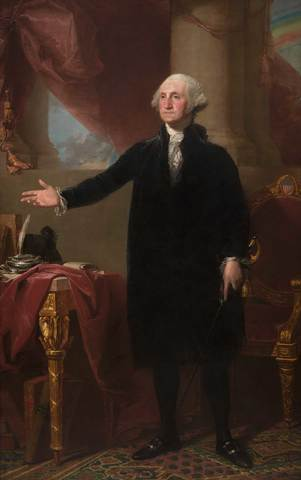 Saved the portrait of George Washington