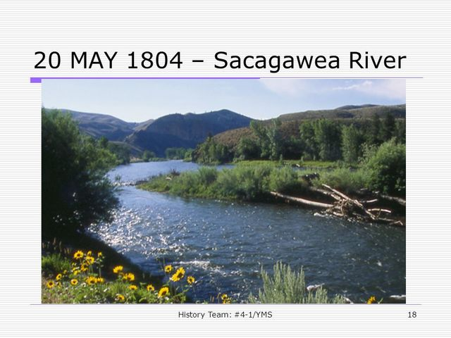 The Sacagawea River