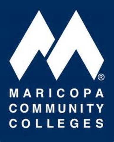 Maricopa County Junior College District. changed name