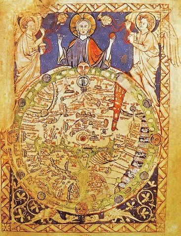 Concepción del espacio y del tiempo en la Edad Media