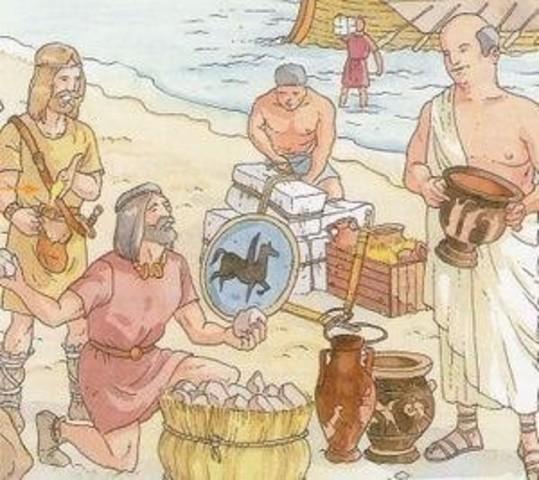 En Grecia se impusieron las leyes, los comerciantes debían llevar libros con operaciones realizadas.
