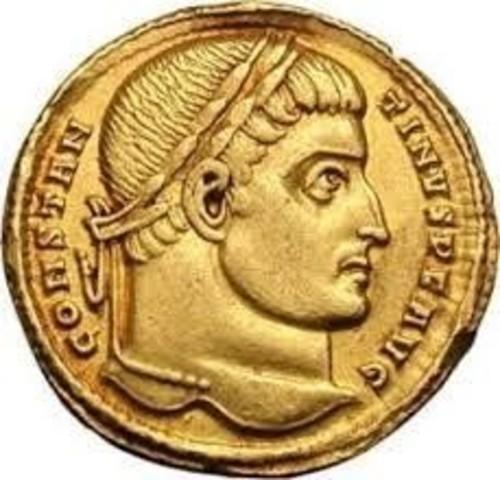 """En Constantinopla se emite la moneda """"Solidus"""", utilizada para transacciones internacionales permitiendo el registro contable."""