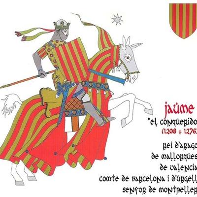 Las conquistas de Jaime I timeline