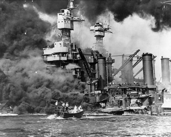 Attacked to Pearl Harbor