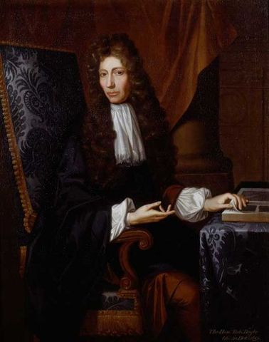 Robert Boyle Publishes Origin of Form and Qualities