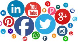 Evolución de las Redes Sociales timeline