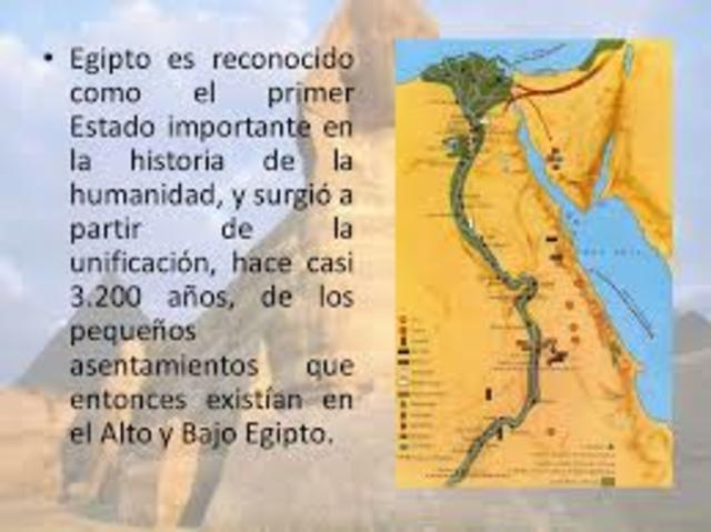 Menes invadió el Bajo Egipto