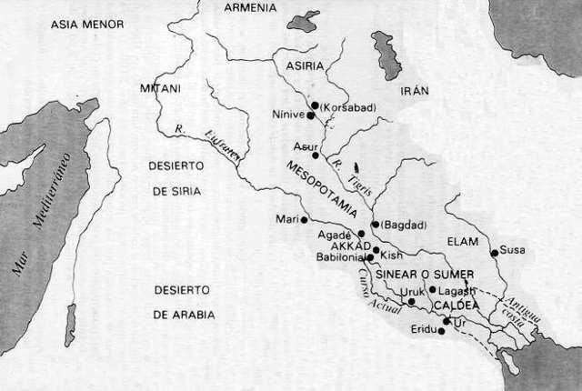 Imperio acadio conquistado por Sargon I de Acad