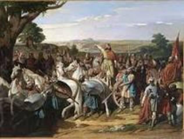 La invasión musulmana de la península Ibérica