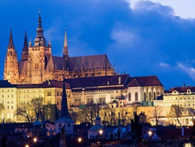 Construyen el Castillo Praga