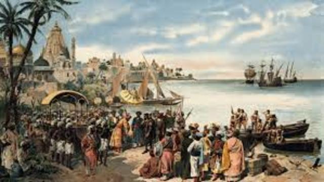 Vasco Da Gama Llega a India