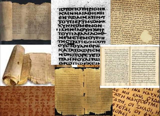Traducción de la Biblia al griego.