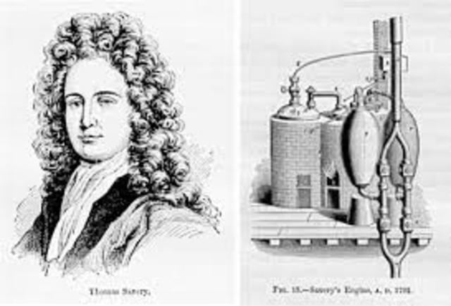 Se crea la máquina de vapor