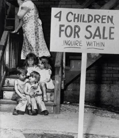 Cae la bolsa de Nueva York e inicia la Gran Depresión