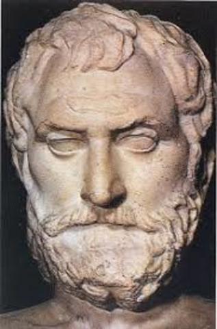 545 BCE - Muerte de Anaximandro