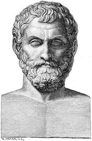 546 BCE - Muerte de Tales de Mileto