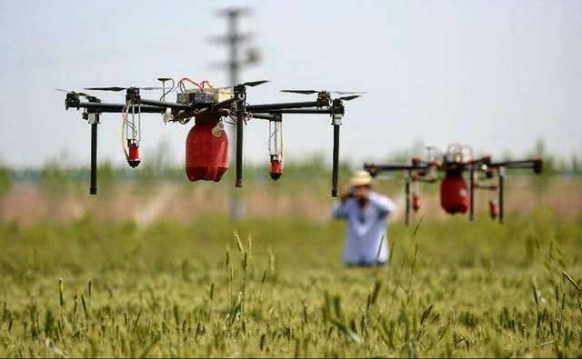 Drones agricultores