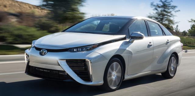 Toyota lanza Vehículos de pila de combustible de hidrogeno