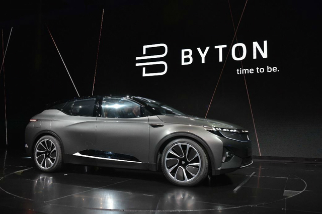 Empresa Byton (exejecutivos de de Tesla, Apple, Google y BMW) desarrollan vehículos inteligentes para 2019