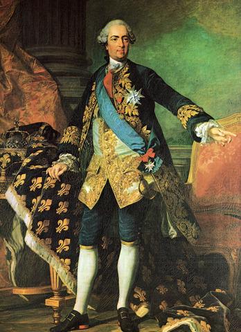 Death of Louis XV