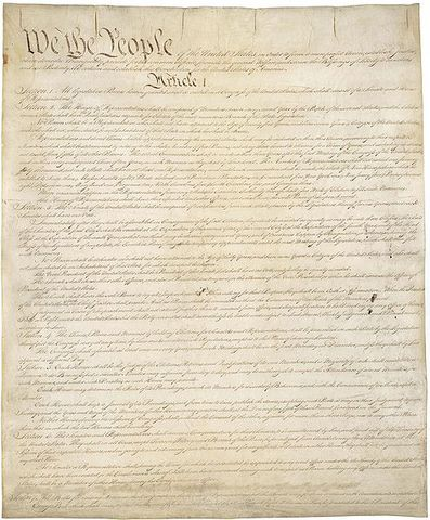 the Constitution writen