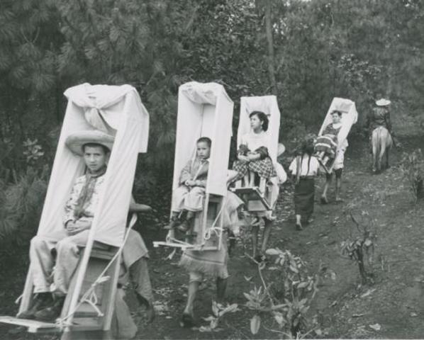 silletas colgadas